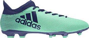 Adidas Mænd X 17,3 Fg Fodbold Sko, Hvide, 16 Eu Aergrn / Uniink / Hiregr