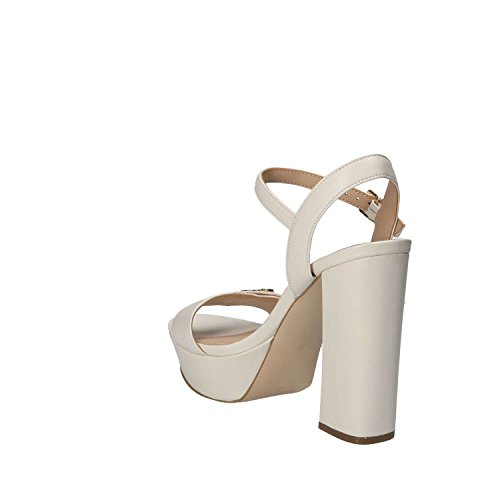 LEA03 Avorio Guess FLFON1 Sandali Sandal Fion Donna Sandalo Leather gptq8wvp
