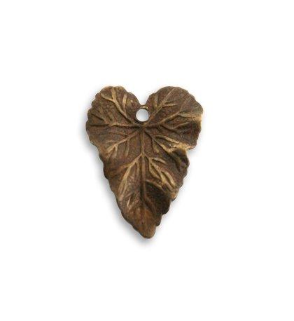 18mm x 14mm Woodland Leaf Charm (2 pcs)