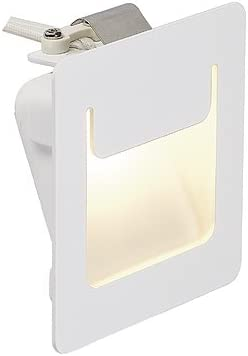 Luz LED empotrada down under PUR 80 x 80, cuadrado, caja blanca, 3 ...