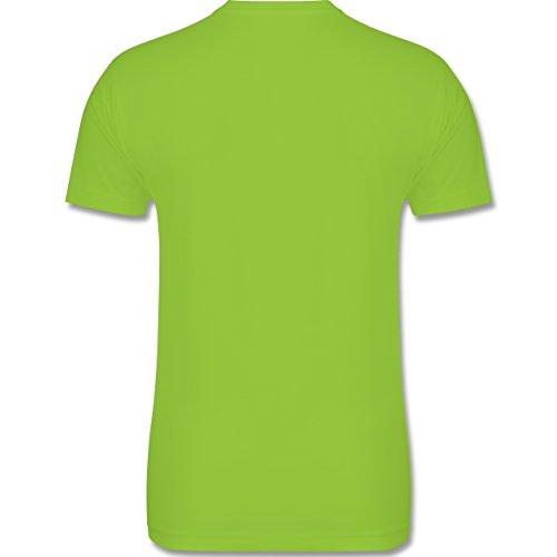 Urlaub - Ich brauche keine Therapie ich muss nur nach Malle - L - Hellgrün - L190 - Herren Premium T-Shirt