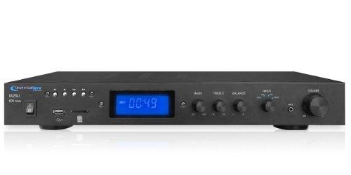 Card Amplifier (Technical Pro Open Box IA25U Integrated Amplifier w/ USB & SD Card Inputs)