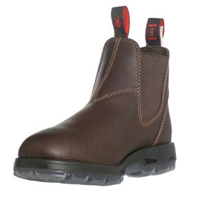Redback Boots UNPU Great Barrier Water Resistant - Puma Brown Leather (8 UK (9 US))