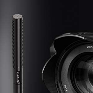 Sennheiser MKE 600 Video Windscreen Bundle Cinema and Broadcasting Shotgun Microphone Kit with LyxPro Shockmount