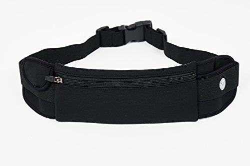 Orion Running Belt - Hands-Free Way to Carry Your Phone, Money, Keys While Hiking, Running, Walking, Parenting - Adjustable Water Resistant Fanny Pack for Amusement Parks, Travel by Mind and Body Experts (Image #1)