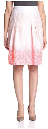 Elie Tahari Cotton Skirt - Elie Tahari Women's Dillan Skirt, Hot Pink, 8 US
