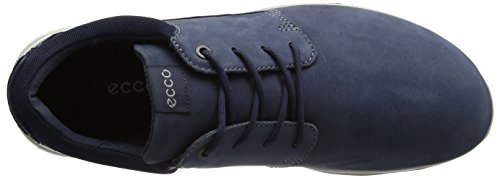 ECCO Calgary, Zapatos de Cordones Derby para Hombre, Marrón, 42 EU Azul (50595marine/marine)