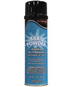3370 BABY POWDER Dry Air Freshener (6 Dozen)