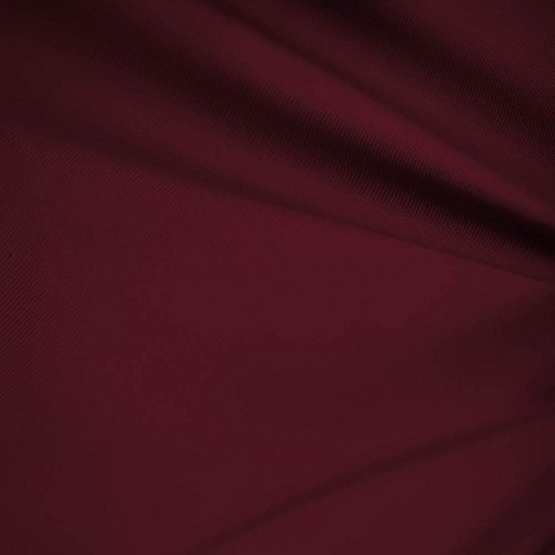 "Burgundy Polyester Fabric (Burgundy 60"" Wide Premium Cotton Blend Broadcloth Fabric By the Yard)"