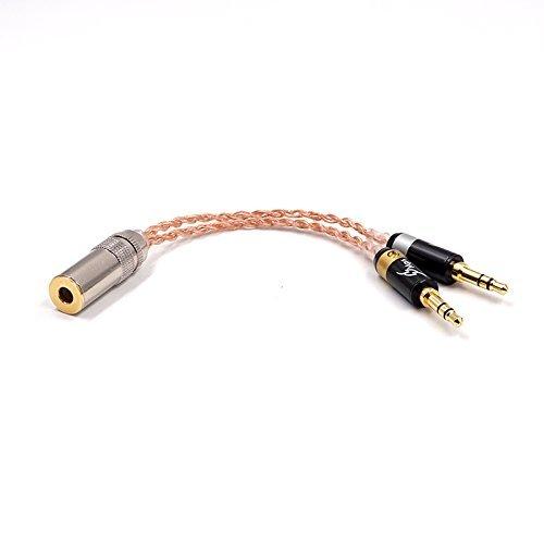 [해외]Yodonami PHA3 균형-4.4 mm 균형 (여성) 오디오 케이블 PHA-3 균형 케이블 (15cm) / Yodonami PHA3 Balance-4.4mm Balance (Female) Audio Cable PHA-3 Balance Cable (15cm)