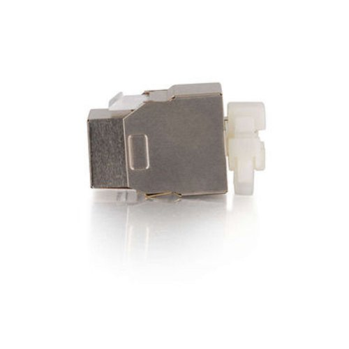C2G/Cables to Go 03786 Cat5e Metal Shielded Keystone Jack by C2G (Image #2)