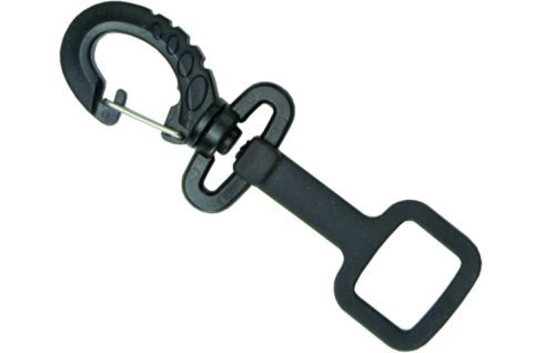 Innovative Rubber Octo-Holder With Clip (Black) (Regulator Keeper)