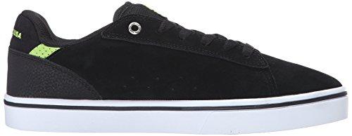DC Men's Notch SD Skate Shoe, Black/Lime, 10.5 M US