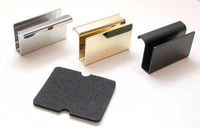 Selby Hardware Glass Door Handles Chrome by Selby Hardware - Selby Gardens