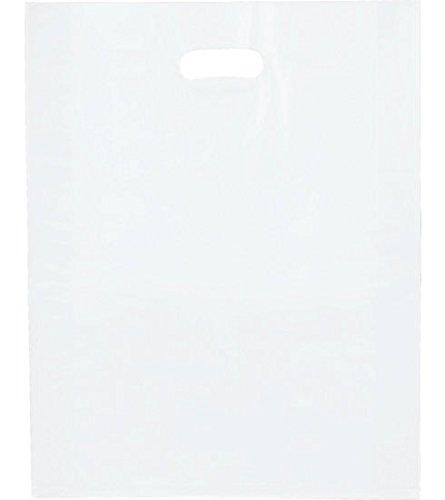 500 Clear Handle Bag | Merchandise Bags, 12 X 15
