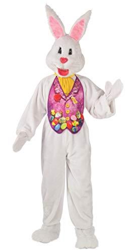 Rubie's Men's Super Deluxe 2X Mascot Bunny Costume, Multi, XX-Large