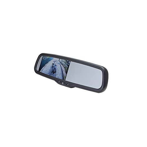 EchoMaster Universal Rearview Mirror Replacement with 4.3 Monitor Mirror Image Camera, MM-4320