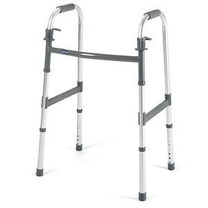 Walker Folding Dual Paddle Release Junior - Invacare 6291JR by Invacare