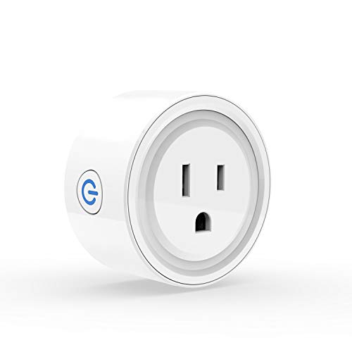 3Stone Smart Plug Mini, No Hub Required, Wi-Fi, Compatible with Amazon Alexa, Control your Devices from Anywhere
