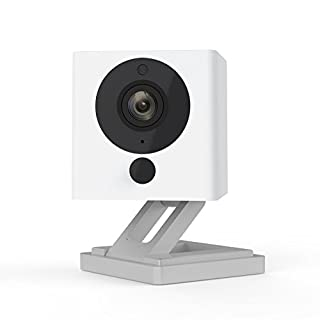 Wyze Cam 1080p HD Indoor WiFi Smart Home Camera with Night Vision, 2-Way Audio, Works with Alexa & the Google Assistant, White, 1-Pack