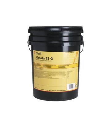 Shell Omala S2 G 100 Extreme-Pressure Oil - 5 Gallon Pail by Shell