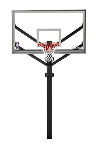 Spalding NBA Arena View H Frame In-Ground Basketball System - 72