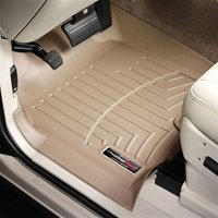 WeatherTech All Season Floor Liners for 2010 Lexus HS250H (Front Set and Rear Uni-Liner) Tan