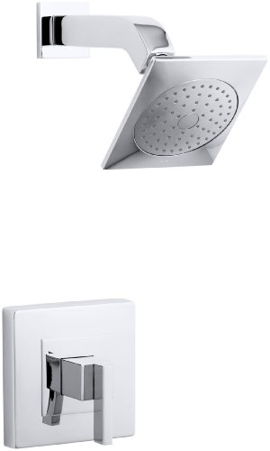 KOHLER K-T14670-4-CP Loure Rite-Temp Shower Trim, Polished Chrome by Kohler