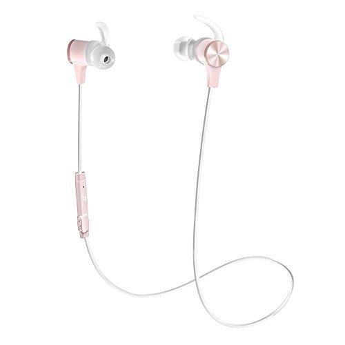 Bluetooth Earphones, TaoTronics Wireless Headphones 4.2 aptX Stereo...