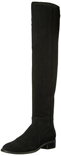 Franco Sarto Women's Bailey Over the Knee Boot, Black, 8.5 Wide US by Franco Sarto
