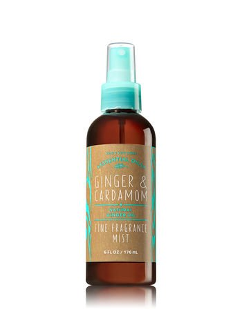 Cream Body Leaves (Bath and Body Works Fine Fragrance Mist Mint Leaf and Bergamot Hot Pink Packaging 6 Ounce Full Size)