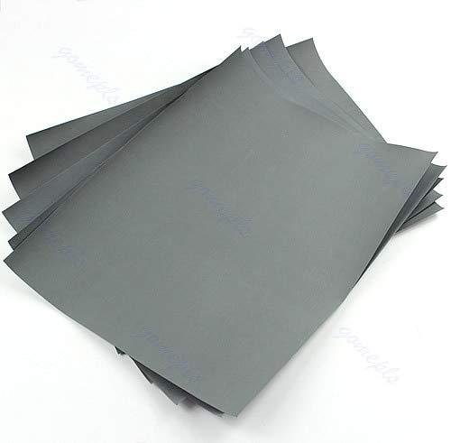 - 5 sheets Sandpaper 3000 Grit Waterproof Paper 9