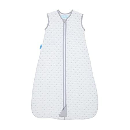 The Gro Company Jacquard Grobag, 18-36 Months, 1 Tog, Grey Circles AAA5108