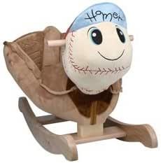 babykidsbargains Homer Baseball Plush Rocker