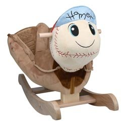 Ababy Homer Baseball Plush Rocker by Ababy