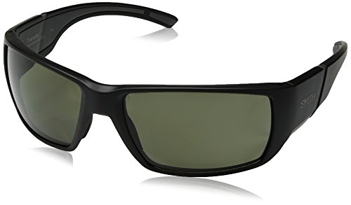 Smith Transfer ChromaPop+ Polarized Sunglasses, Matte Black, Gray Green Lens