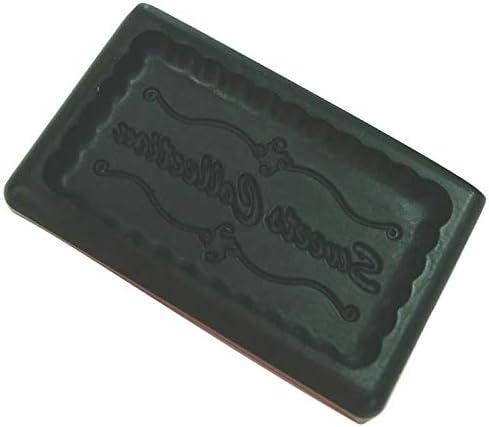 アートギャラリーフローレ 粘土専用型 ミニ型抜きハーフサイズ Plate Series T-713 Sweets Collection type-B