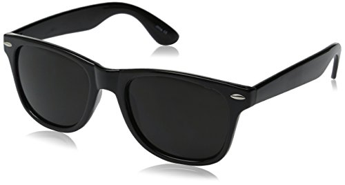 Vintage Retro Classic Polarized Lens Trendy Wayfarer Style Sunglasses - 80's Fashion - Mens or Womens