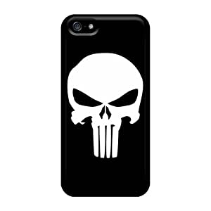 KimberleyBoyes Iphone 5/5s Protective Hard Cell-phone Cases Support Personal Customs Attractive Punisher Logo Pattern [LuE9883VwoL]