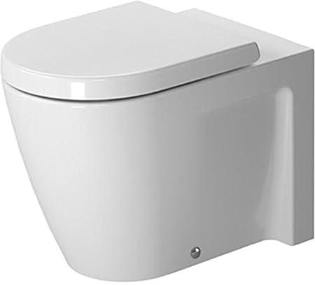 Duravit Starck 2 Stand-WC weiß 370 x 570 mm, 2128090000: Amazon.co ...