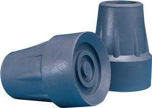 INVACARE CORPORATION INV6134 1.75 in. Rubber Crutch Tip, Large - Gray