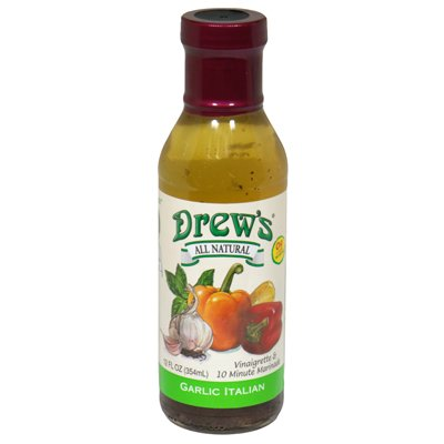 Drew's All Natural Classic Italian Dressing, 12 Ounce (Pack of 6)