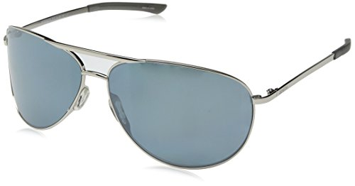 (Smith Serpico 2 ChromaPop Polarized Sunglasses, Silver)