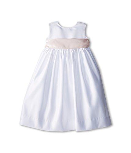 Us Angels Baby Girl's Sleeveless Satin Dress (Toddler) Blush Pink 1 Dress 2T (Toddler)