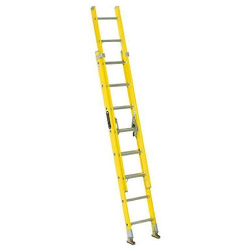 Louisville Ladder FE1716 Fiberglass Extension Ladder, Type I, 16 Feet, 250 Pound Duty Rating
