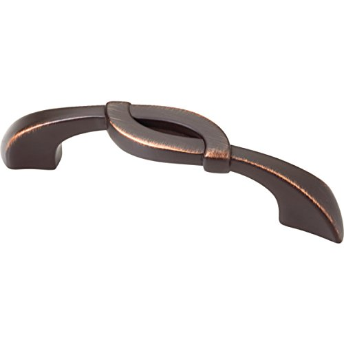 Liberty Hardware 3-3-3/4 Dual Mount Unity Pull Venetian Bronze, Package of 12 by Liberty Hardware