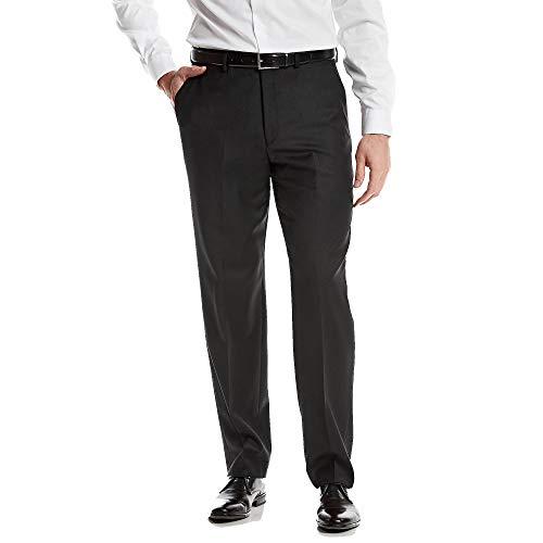 - MICHAEL Michael Kors Mens Wool Partially Lined Dress Pants Black 34/32