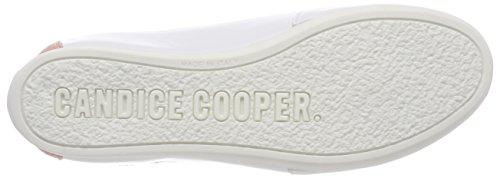 Candice Cooper Women's Vitello Trainers White (Camoscio Cipria Weiß) 0colqkesiQ