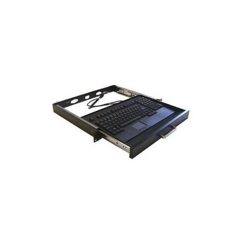 730UB-MRP USB Mini Touchpad 19inch 1U Rackmount Drawer Black Retail ()