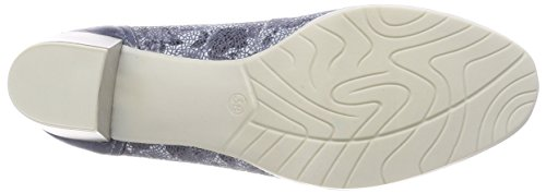 MARCO TOZZI premio Women's 22433 Closed Toe Heels Blue (Blue Flower Co 893) best store to get for sale deals sale online shopping online with mastercard release dates cheap online Koq3ZssggT